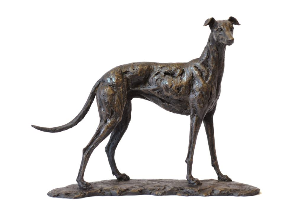 Greyhound sculpture - Tanya Russell Dog Sculpture
