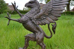 Griffin Outdoor Garden Sculpture
