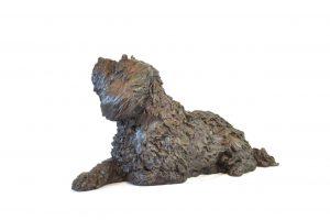 Tibetan Terrier Garden Statue