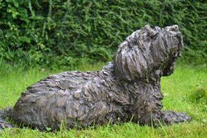 Tibetan Terrier Statue