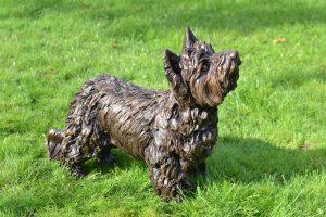 Yorkshire Terrier Sculpture