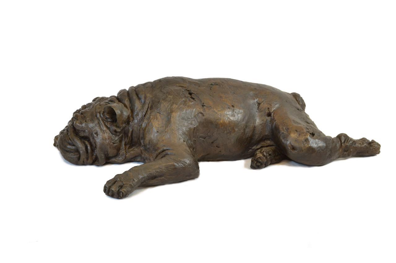 Bulldog Sculpture 3 - Tanya Russell Dog Sculpture