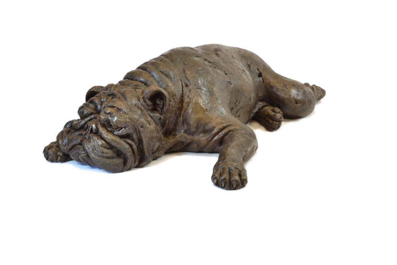 Bulldog Sculpture 8 - Tanya Russell Dog Sculpture