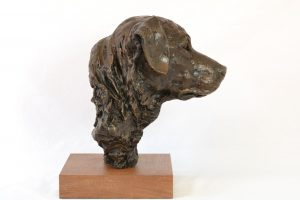 Labrador Portrait - Dog Sculpture. Sculpture portrait of a labrador by Tany Russell