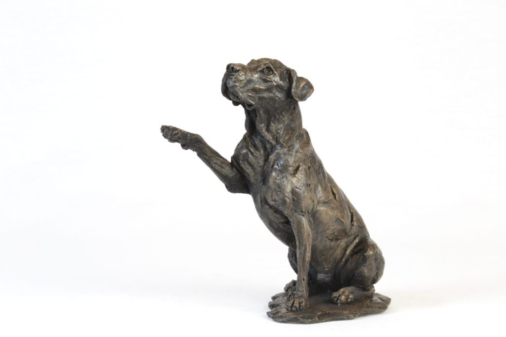 Hope - Rescue Dog Sculpture, Doris Banham Rescue Dog Sculpture- Tanya Russell Dog Sculpture
