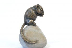 Dormouse Sculpture - Tanya Russell Animal Sculpture