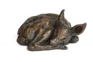 Fawn Sculpture - Tanya Russell Animal Sculpture