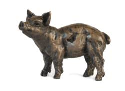 Pig Family sculptures - Piglet Sculpture