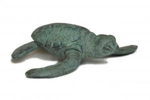 Turtle Statue - Tanya Russell Animal Sculpture