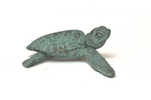 Turtle Sculpture - Tanya Russell Animal Sculpture