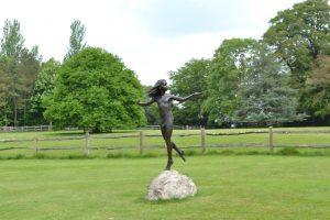 Bronze Dancing Girl Statue