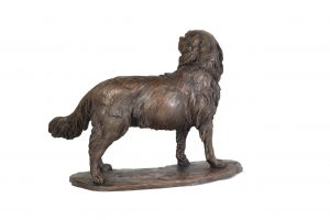 Cavalier King Charles Spaniel, Standing sculpture - right view