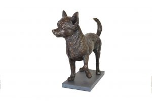 STANDING CHIHUAHUA SCULPTURE