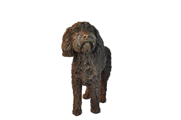 STANDING COCKERPOO SCULPTURE
