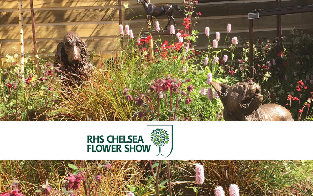 Sculpture at Chelsea Flower Show 2018