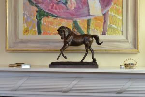 Playing Horse Statue