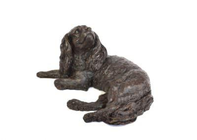 Lying Cavalier 3- Tanya Russell Sculpture