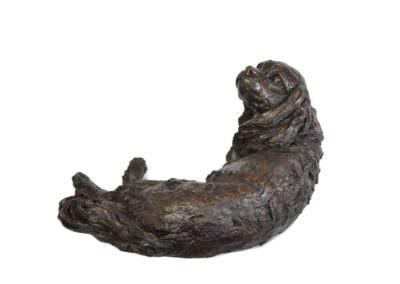 Lying Cavalier 4- Tanya Russell Sculpture