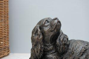 Cavalier King Charles Spaniel Sculpture