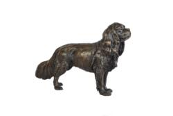 STANDING KING CHARLES CAVALIER SPANIEL SCULPTURE