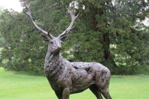Red Deer Stag Sculpture