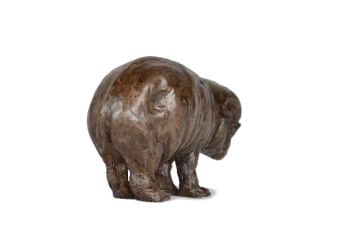 BABY HIPPO SCULPTURE