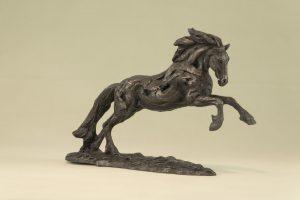 GALLOPING HORSE SCULPTURE