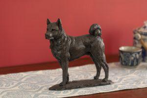 Akita Bronze Sculpture