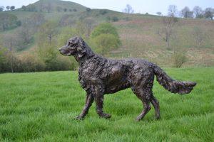 English Setter Garden Statue