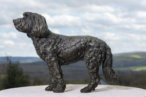 Standing Cockerpoo Sculpture