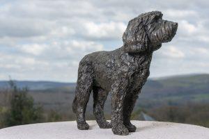 Cockerpoo Sculpture