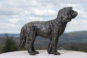 Bronze Cockerpoo Sculpture