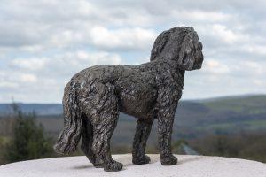 Bronze Cockerpoo Statue