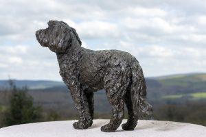 Cocker Spaniel Poodle Cross statue
