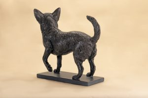 life size chihuahua sculpture