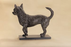 life size chihuahua sculpture video