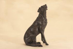 bronze lab sculpture
