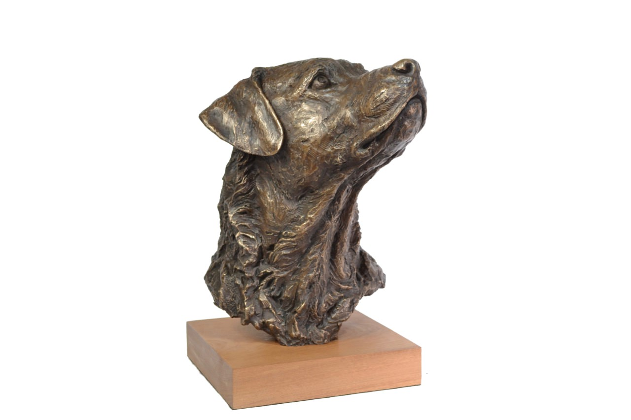 LABRADOR PORTRAIT 2 SCULPTURE