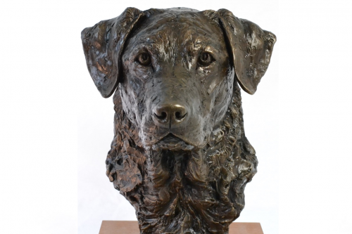 LABRADOR PORTRAIT 1 SCULPTURE