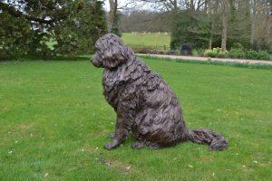 bronze newfoundland sculpture