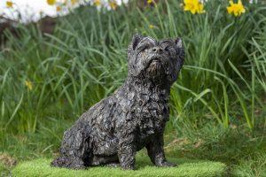 Sitting West Highland Terrier Garden Sculpture