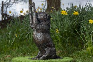 Staffie Art Sculpture