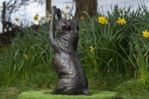Staffie Love Sculpture