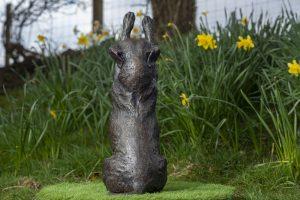 Back Staffie Sculpture