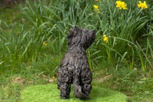 Garden Sculpture Yorkshire Terrier