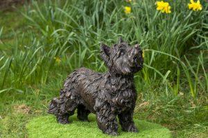 Bronze Resin Yorkshire Terrier