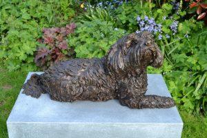 Tibetan Terrier Sculpture