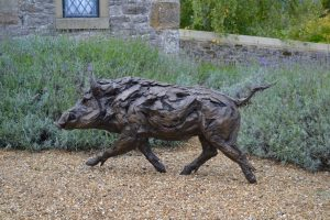 Wild Boar Outdoor Art