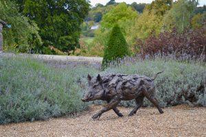Wild Boar Running Art