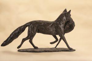 Fox and Pheasant Art